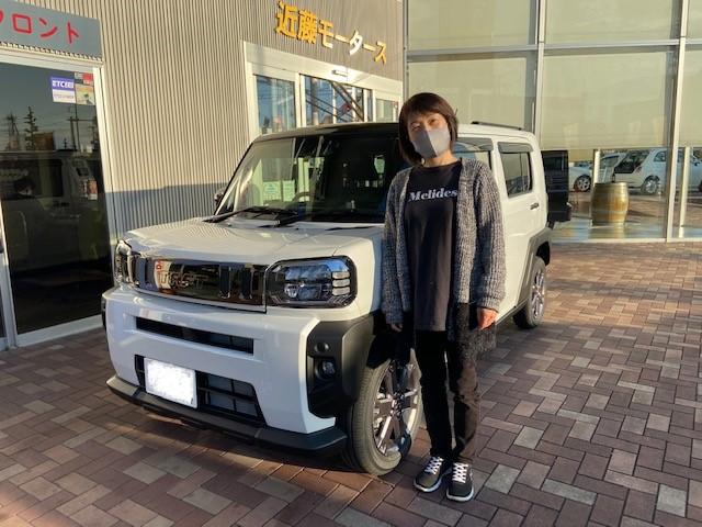 ☆新車タフトを御購入頂きましたK様☆の写真