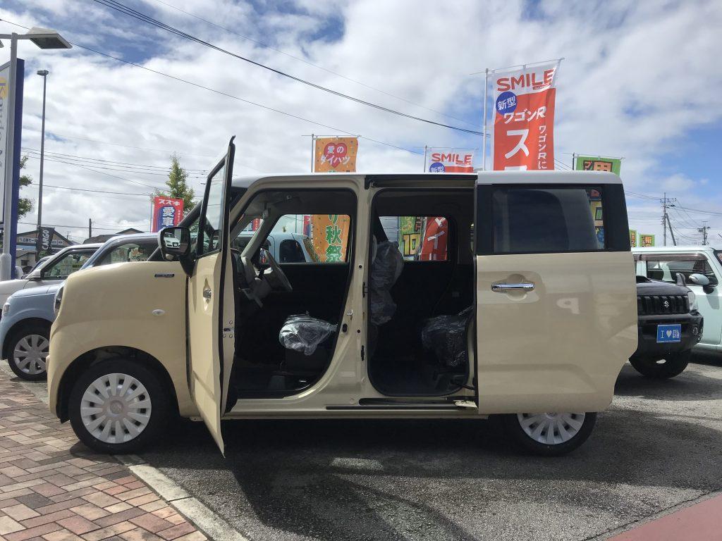 新型!ワゴンR スマイル(^0^)/!!!