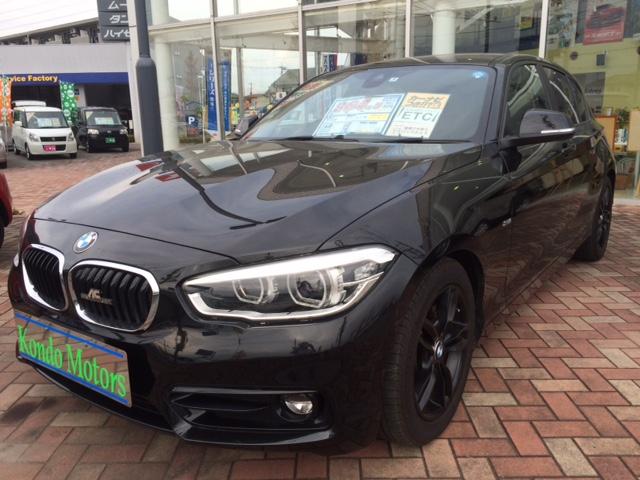 BMW 1シリーズのディーゼル車入庫しました!!